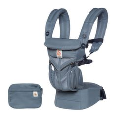 Ergobaby nešioklė Omni 360 Cool Air, mesh, oxford blue, BCS360POXBLU