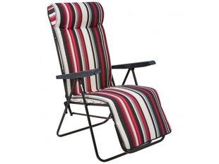 Sulankstoma kėdė Patio Gala Plus, raudona/pilka kaina ir informacija | Lauko kėdės, foteliai, pufai | pigu.lt
