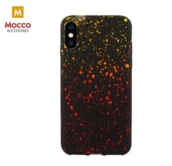 Mocco SKY Silicone Case for Apple iPhone XS / X Yellow-Orange kaina ir informacija | Telefono dėklai | pigu.lt