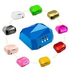 UV-LED 36W (CCFL+LED) Hibridinė Nagų lakavimo Lempa DIAMOND kaina ir informacija | UV-LED 36W (CCFL+LED) Hibridinė Nagų lakavimo Lempa DIAMOND | pigu.lt