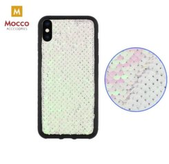 Mocco Magic Silicone Back Case For Apple iPhone XS / X Silver kaina ir informacija   Telefono dėklai   pigu.lt