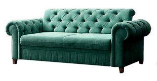 Sofa Prince 2ES, žalia kaina ir informacija | Sofos | pigu.lt