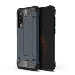 Hybrid Armor Case Tough Rugged, skirtas Huawei P30, mėlynas kaina ir informacija | Telefono dėklai | pigu.lt