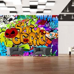 Fototapetas - Scary graffiti kaina ir informacija | Fototapetai | pigu.lt