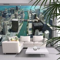 Fototapetas - Urban architecture of Chicago kaina ir informacija | Fototapetai | pigu.lt