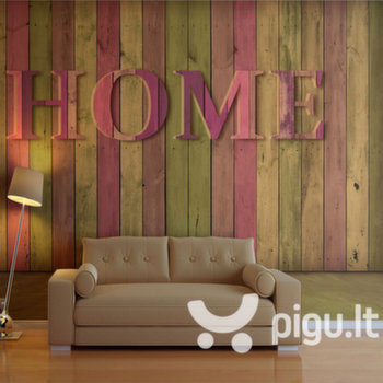 Fototapetas - house (pink) kaina ir informacija | Fototapetai | pigu.lt