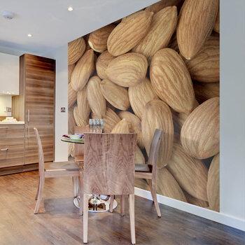Fototapetas - Tasty almonds kaina ir informacija | Fototapetai | pigu.lt