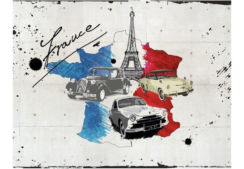 Fototapetas - Admirer of cars (France) kaina