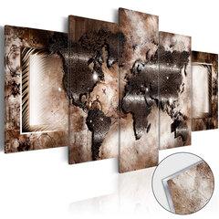 Akrilo stiklo paveikslas - Platinum Map [Glass] kaina ir informacija | Reprodukcijos, paveikslai | pigu.lt
