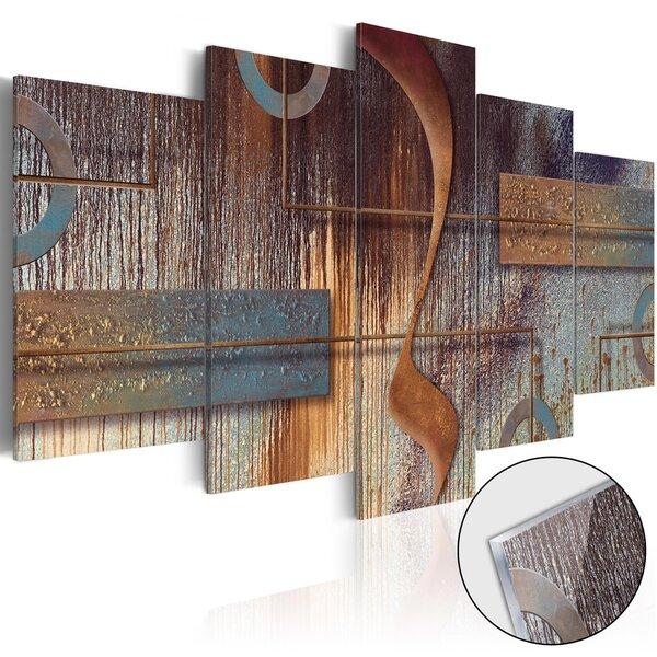 Akrilo stiklo paveikslas - Oriental Composition [Glass] kaina ir informacija | Reprodukcijos, paveikslai | pigu.lt