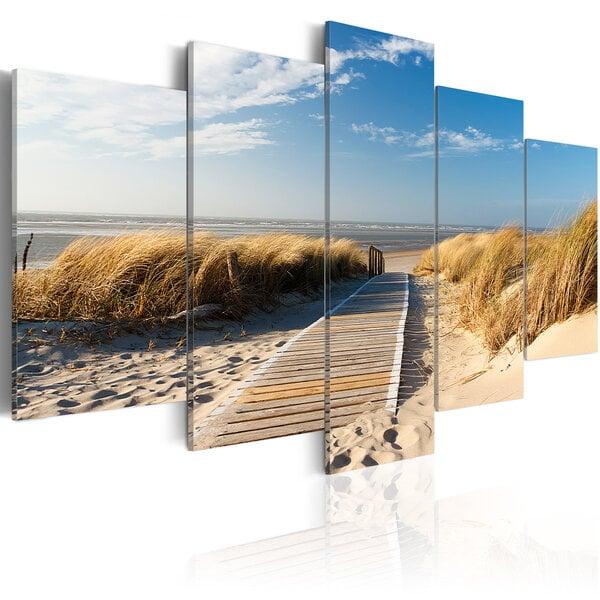 Paveikslas - Unguarded beach - 5 pieces