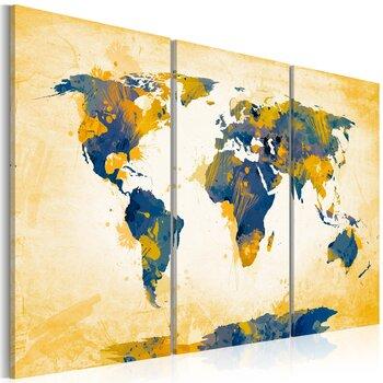 Paveikslas - Four corners of the World - triptych kaina ir informacija | Reprodukcijos, paveikslai | pigu.lt