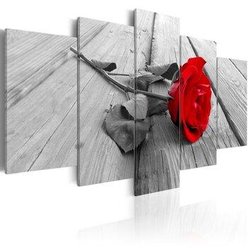 Paveikslas - Rose on wood kaina ir informacija | Reprodukcijos, paveikslai | pigu.lt