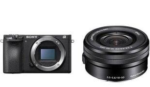Sony A6500 16-50mm OSS kaina ir informacija | Skaitmeniniai fotoaparatai | pigu.lt