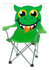Sulankstoma vaikiška kėdė, žalia