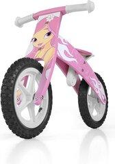 Balansinis dviratukas Milly Mally Flip, rožinis