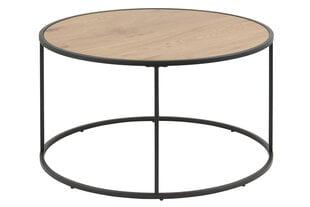 Кофейный столик Seaford, дуб/черный цвет