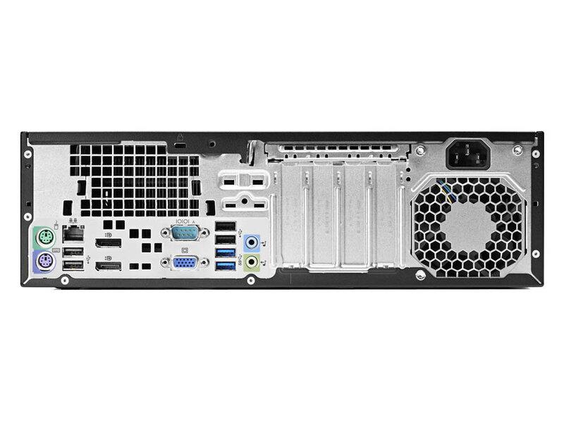 HP 800 G1 SFF I5-4570 8GB 120SSD DVD WIN10Pro kaina