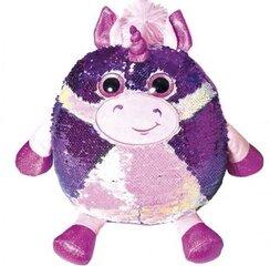Pagalvėlė su žvyneliais Vienaragis Fancy kaina ir informacija | Žaislai mergaitėms | pigu.lt