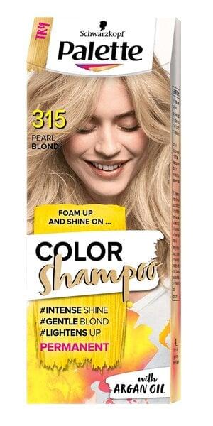 Dažomasis plaukų šampūnas Schwarzkopf Palette Color, 315, Pearl Blond kaina ir informacija   Plaukų dažai   pigu.lt