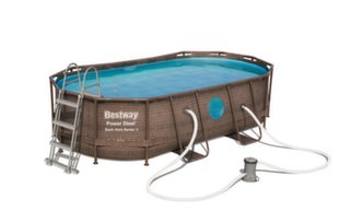 Karkasinis baseinas Bestway Power Steel Swim Vista, 4,24x2,5 m