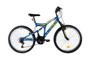 """Vaikiškas dviratis Kreativ 2441 24"""", mėlynas"""