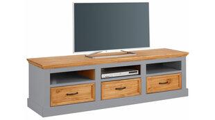 TV staliukas Suzie, pilkos/ąžuolo spalvos kaina ir informacija | TV staliukas Suzie, pilkos/ąžuolo spalvos | pigu.lt