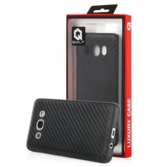 Qult Luxury Carbon Back Case Silicone Case for LG K420 K10 Black kaina ir informacija | Qult Luxury Carbon Back Case Silicone Case for LG K420 K10 Black | pigu.lt
