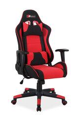 Žaidimų kėdė Zanda, raudona/juoda