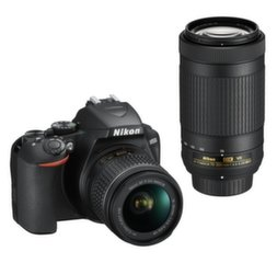 Nikon D3500 + AF-P DX 18-55 VR + AF-P DX 70-300 VR kaina ir informacija | Skaitmeniniai fotoaparatai | pigu.lt
