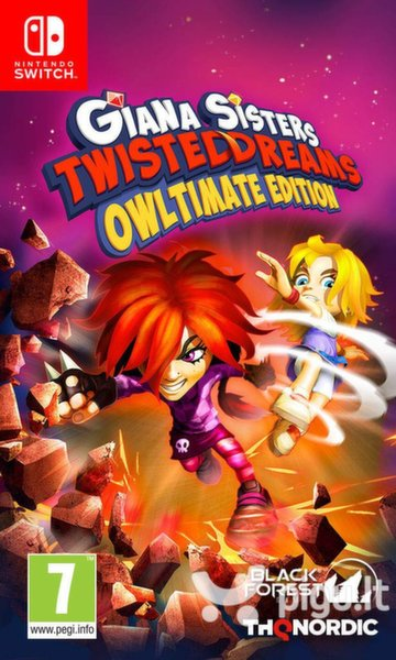 Giana Sisters: Twisted Dreams Owltimate Edition NSW