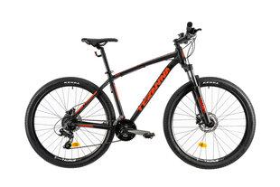 """Prekė su pažeista pakuote. Vyriškas kalnų dviratis DHS Teranna 2727 27,5"""", juodas"""