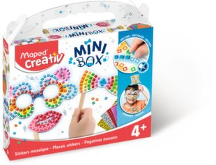 Mozaikos lipdukų rinkinys Maped Creativ Mini Box kaina ir informacija | Mozaikos lipdukų rinkinys Maped Creativ Mini Box | pigu.lt
