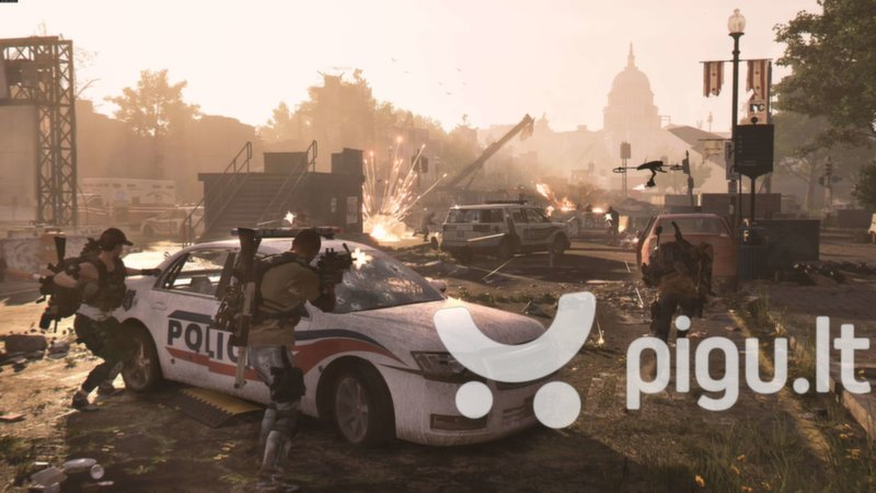 Tom Clancy's The Division 2 PS4 internetu