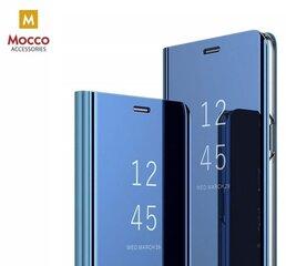 Mocco Clear View, Atverčiamas dėklas Samsung A405 Galaxy A40 telefonui, Mėlyna kaina ir informacija | Telefono dėklai | pigu.lt