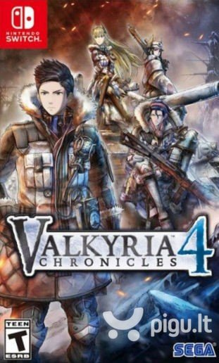 Valkyria Chronicles 4 NSW