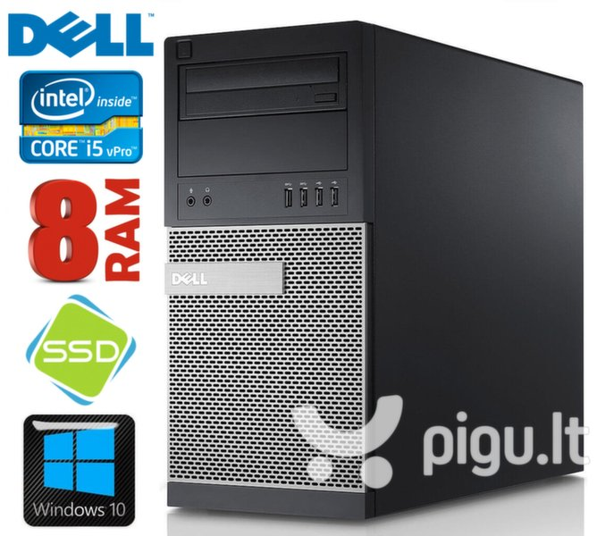 DELL 790 MT i5-2400 8GB 120SSD DVD WIN10