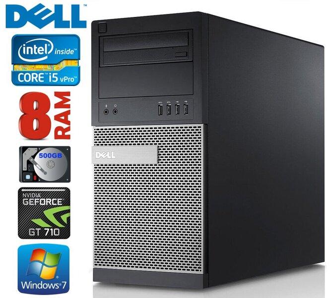 DELL 790 MT i5-2400 8GB 500GB GT710 2GB DVD WIN7Pro