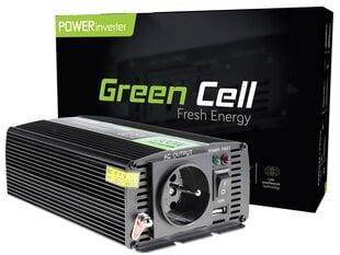 Įtampos keitiklis Green Cell® 12V 230V 300W