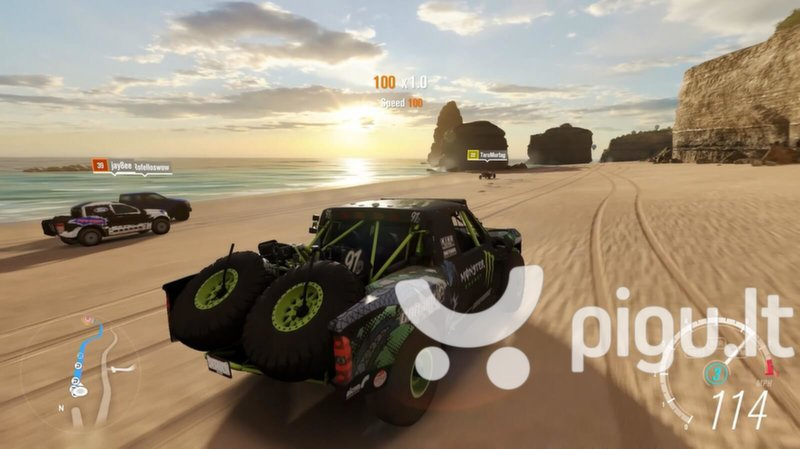 Forza Horizon 3, Xbox One internetu