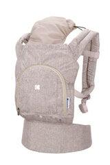 Рюкзак-переноска Kikkaboo Hoody, Beige цена и информация | Слинги, эргорюкзаки | pigu.lt