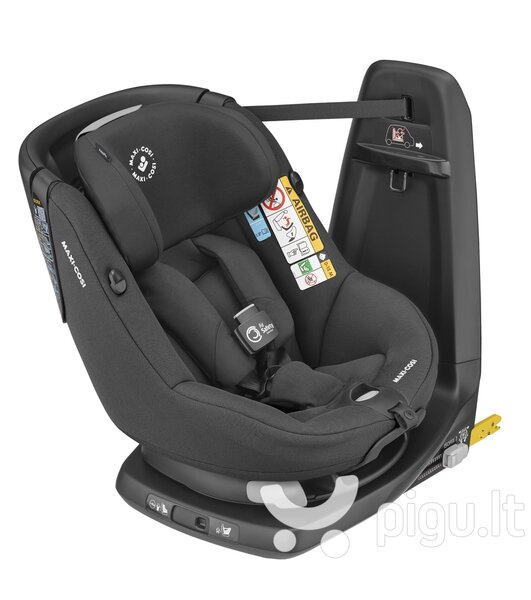Maxi Cosi automobilinė kėdutė AxissFix Air, Authentic Black, 9-18 kg kaina