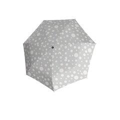 Moteriškas skėtis Derby Hit Magic Bubble, pilkas su baltais burbuliukais kaina ir informacija | Moteriški skėčiai | pigu.lt