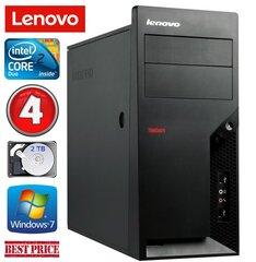 Lenovo M58e MT E7500 4GB 2TB Win7Pro kaina ir informacija | Lenovo M58e MT E7500 4GB 2TB Win7Pro | pigu.lt