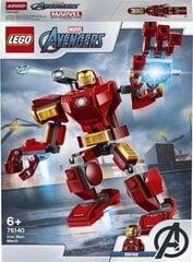 76140 LEGO® Super Heroes Marvel Avengers Movie 4 Geležinio žmogaus robotas kaina ir informacija | Konstruktoriai ir kaladėlės | pigu.lt