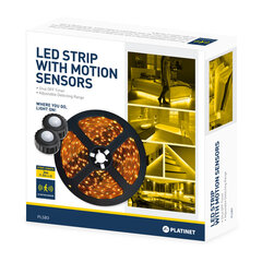 LED juosta 2 jutikliams 2x1.5m kaina ir informacija   LED juostos   pigu.lt