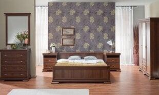 Miegamojo komplektas Kora, rudas kaina ir informacija | Miegamojo komplektai | pigu.lt