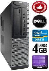 DELL Optiplex 7010 Core i5-3570 4GB 250GB DVDRW Windows 10 Professional kaina ir informacija | Stacionarūs kompiuteriai | pigu.lt