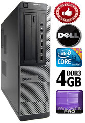 Dell Optiplex 3010 i3-2120 4GB 500GB DVDRW Windows 10 Professional kaina ir informacija | Stacionarūs kompiuteriai | pigu.lt