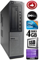 DELL Optiplex 7010 Core i3-3220 3.30GHZ 4GB 120GB SSD DVD Windows 10 Professional kaina ir informacija | DELL Optiplex 7010 Core i3-3220 3.30GHZ 4GB 120GB SSD DVD Windows 10 Professional | pigu.lt